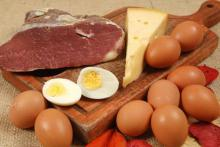 Яйца, сыр, мясо и вред холестерина