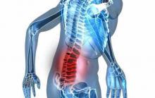 Риск перелома костей поясничного отдела