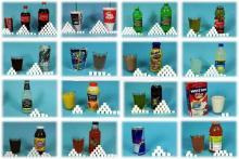 Сколько сахара содержится в разных безалкогольных напитках - сравнение