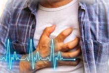 Боль в груди - вероятно инфакркт