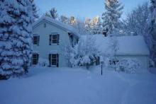 Cнег успокаивает