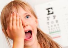 Амблиопия или синдром ленивого глаза