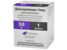 Доксорубицин: инструкция по применению