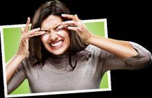 Зуд в глазах - не стоит тереть, облегчения не будет