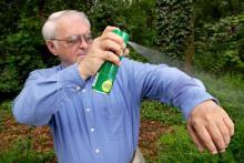 Средство от комаров на открытом воздухе с ДЭТА