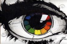 Цвет глаз человека