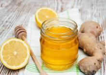 Мед, лимон и имбирь как средство от кашля