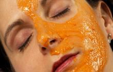 антивозрастная маска из тыквы