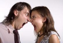 гнев при разводе