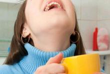 полоскание горла солью при беременности