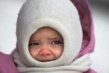 Обморожение у детей