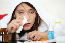 сколько держится грипп