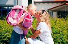 Школьный рюкзак и боли в спине у ребенка