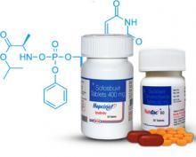 Софосбувир, таблетки