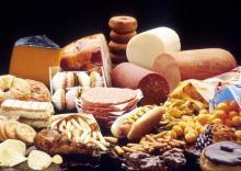 10 продуктов с наибольшим содержанием насыщенных жиров