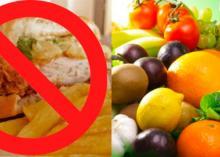 Здоровый образ питания
