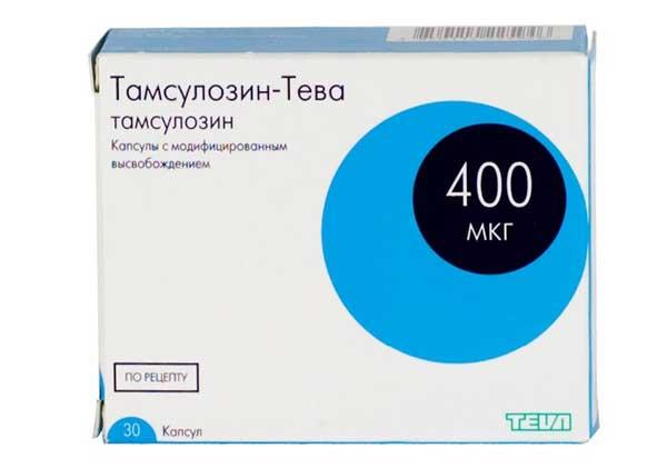 Тамсулозин: инструкция по применению